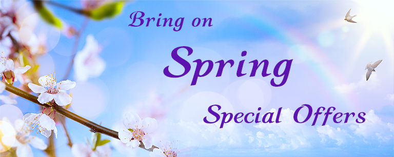 Bring on Spring Special Offers